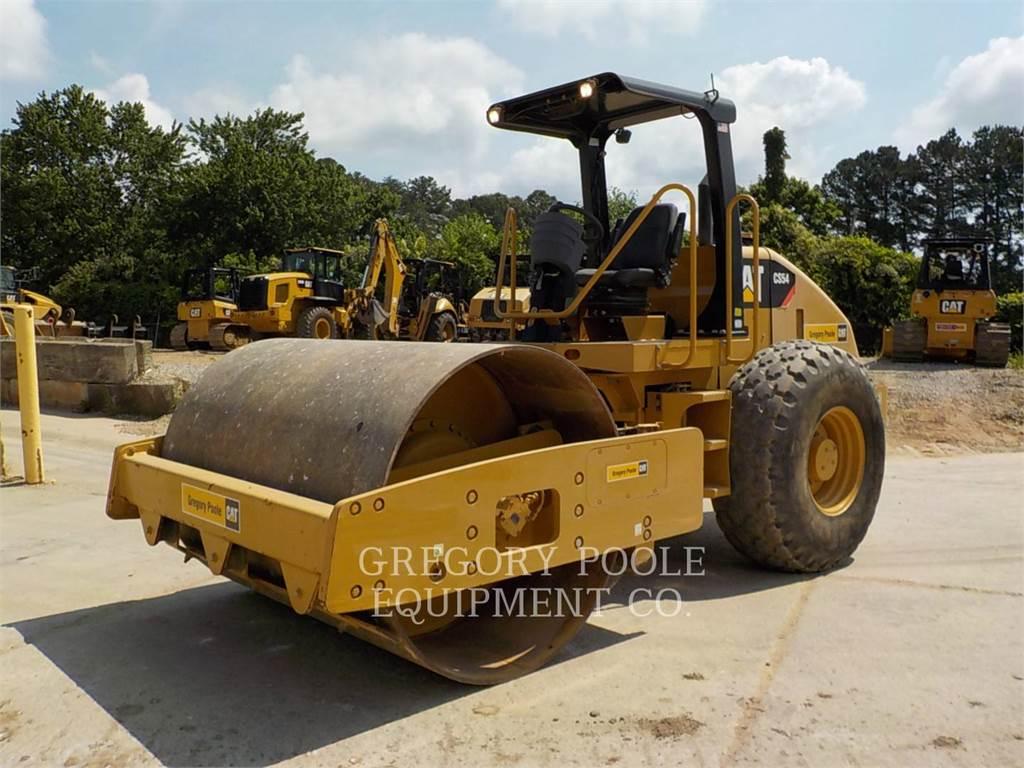 Caterpillar CS-54, Rouleaux monocylindre, Équipement De Construction