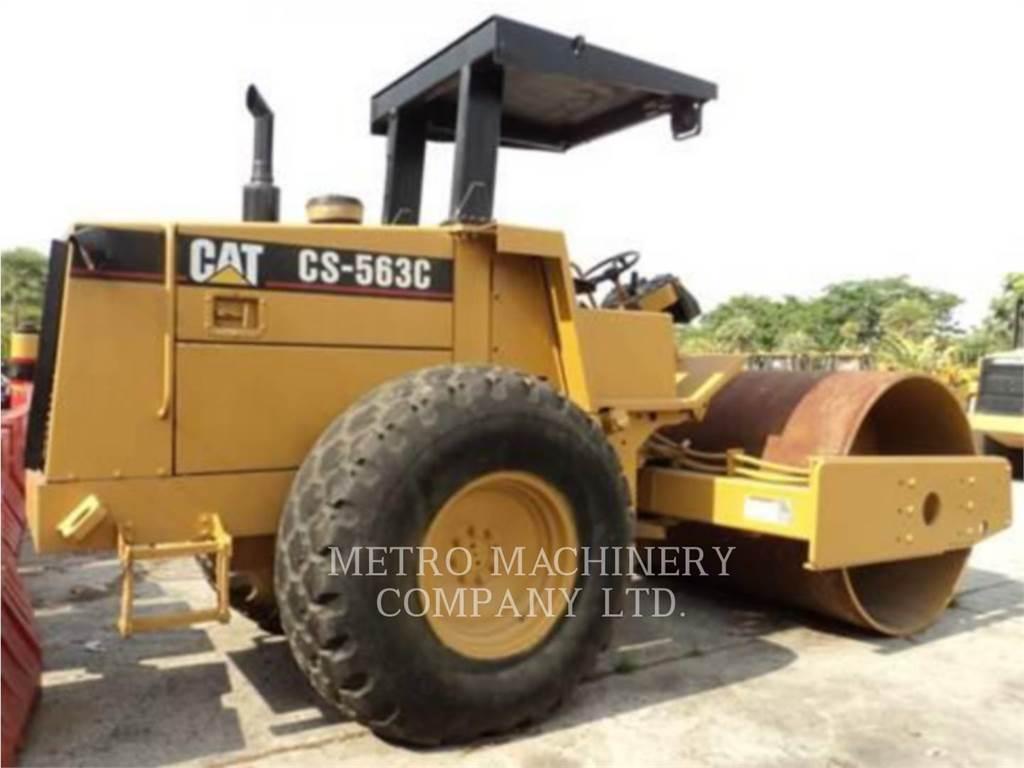 Caterpillar CS-563CAW, Rouleaux monocylindre, Équipement De Construction