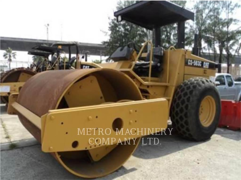 Caterpillar CS-563CAW, Single drum rollers, Construction
