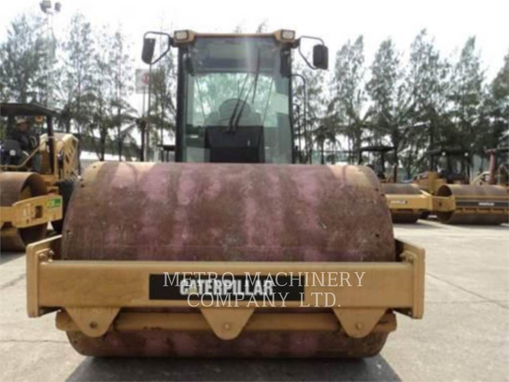 Caterpillar CS-563DAW, Single drum rollers, Construction