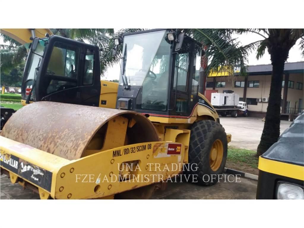 Caterpillar CS-563E, Compactadoras de residuos, Construcción