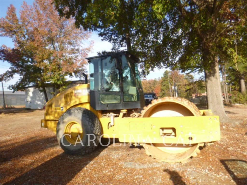 Caterpillar CS 66 B, Single drum rollers, Construction