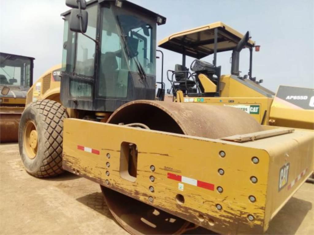 Caterpillar CS 78 B, Single drum rollers, Construction