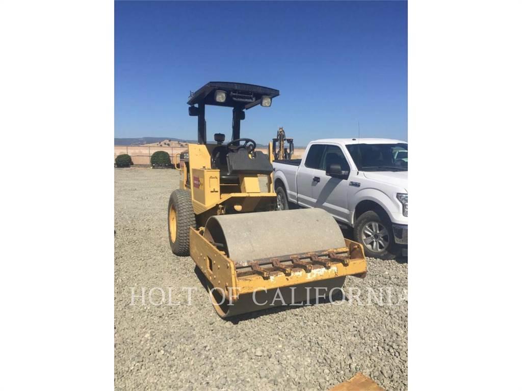 Caterpillar CS323, Compactadores, Construcción