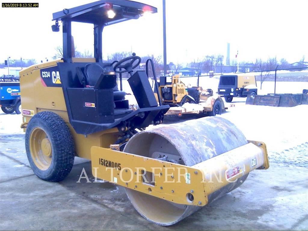 Caterpillar CS34, Single drum rollers, Construction