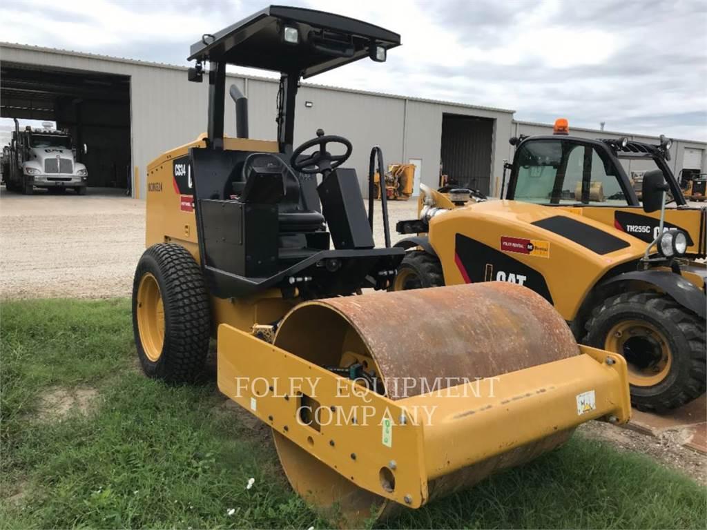 Caterpillar CS34, Compactadores, Construcción