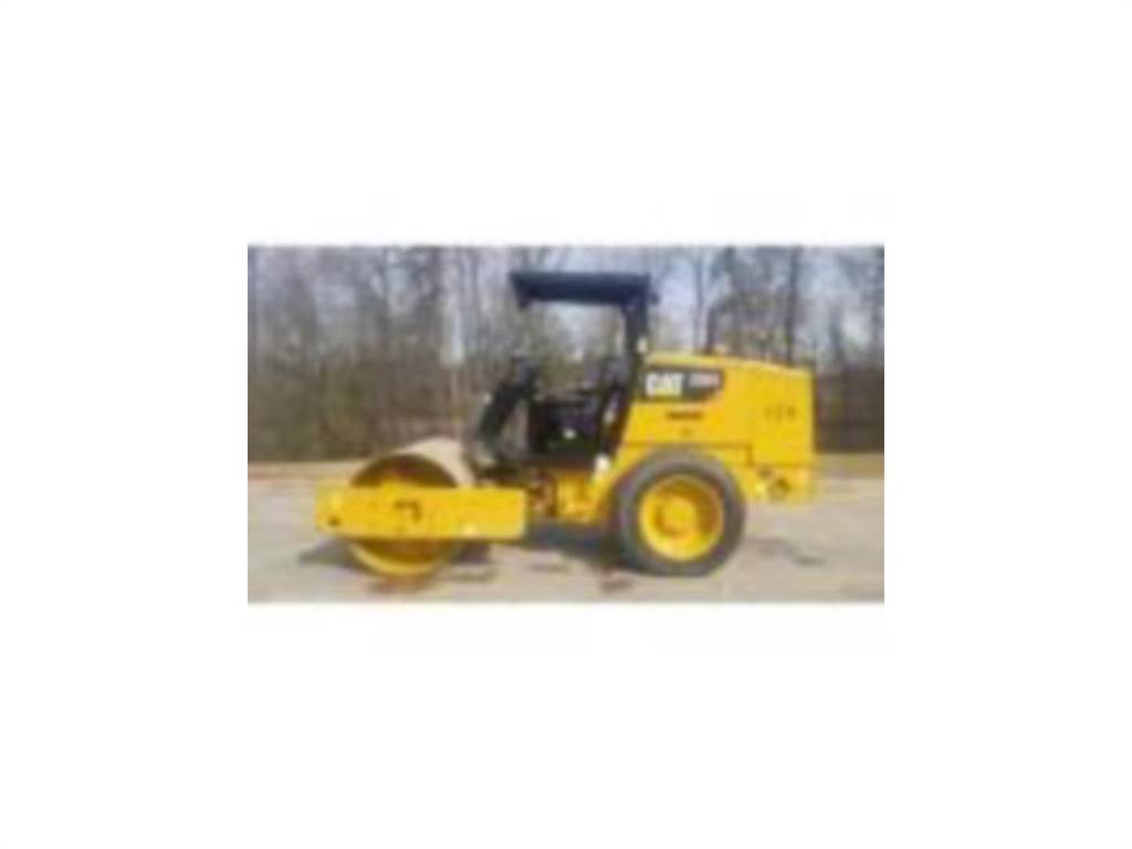 Caterpillar CS34, Single drum rollers, Construction