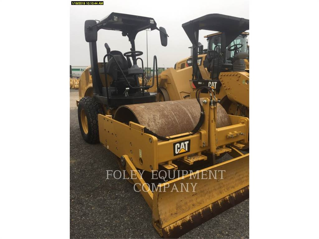 Caterpillar CS44B, Single drum rollers, Construction
