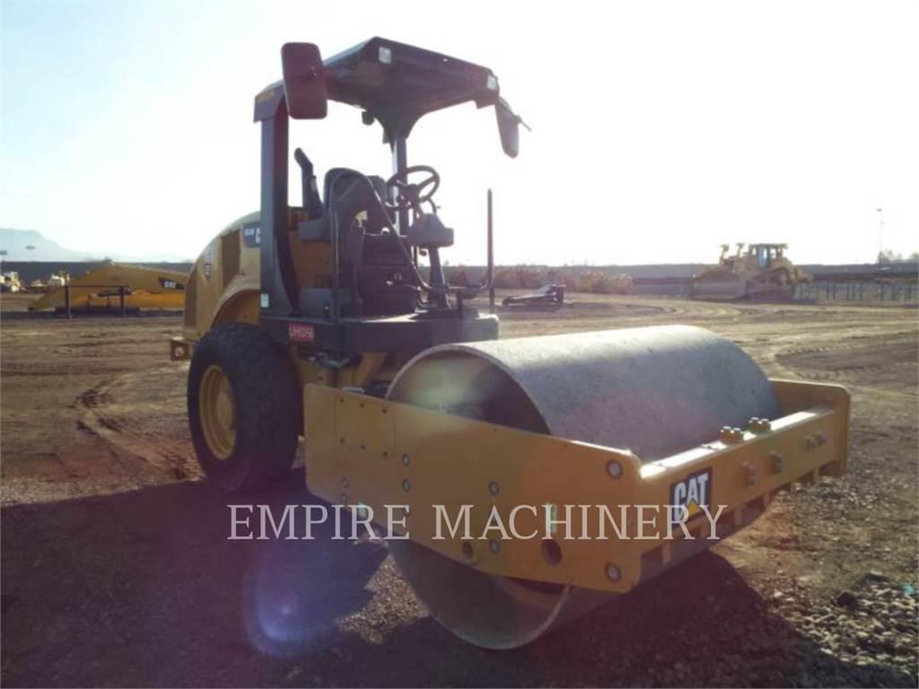 Caterpillar CS44B, Single drum rollers, Construction
