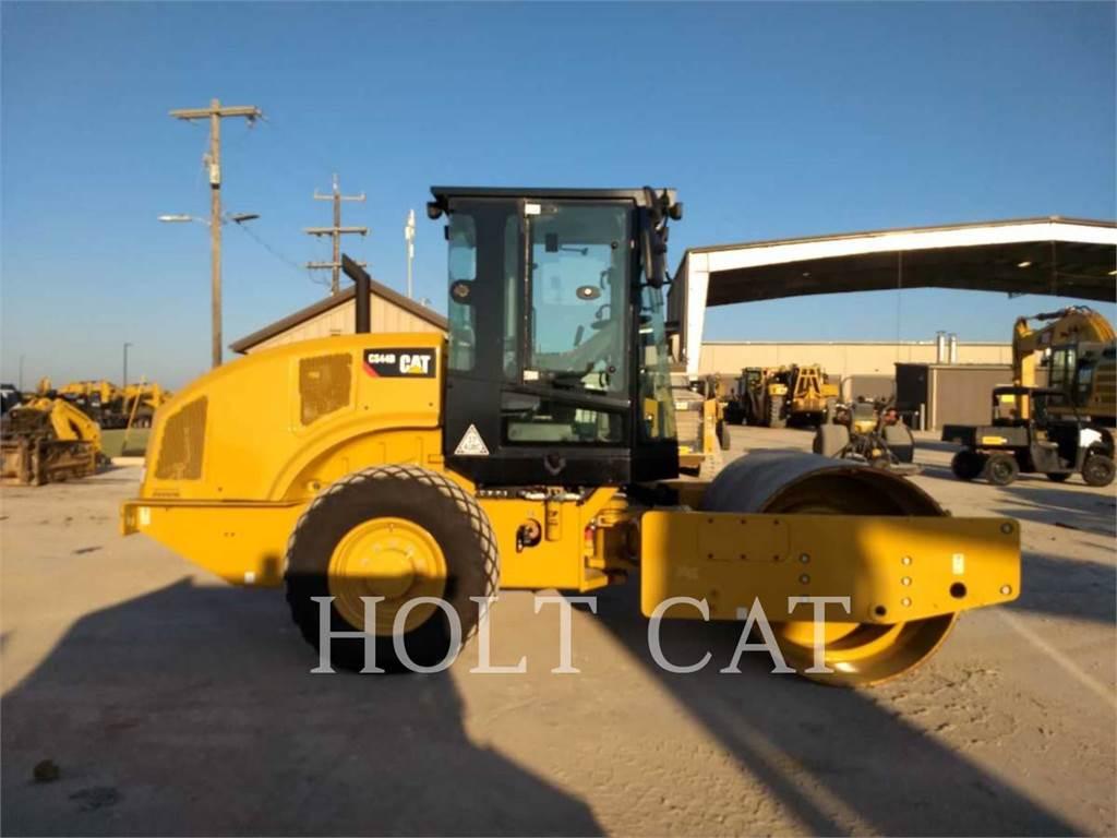 Caterpillar CS44B CAB, Walce jednobębnowe, Sprzęt budowlany