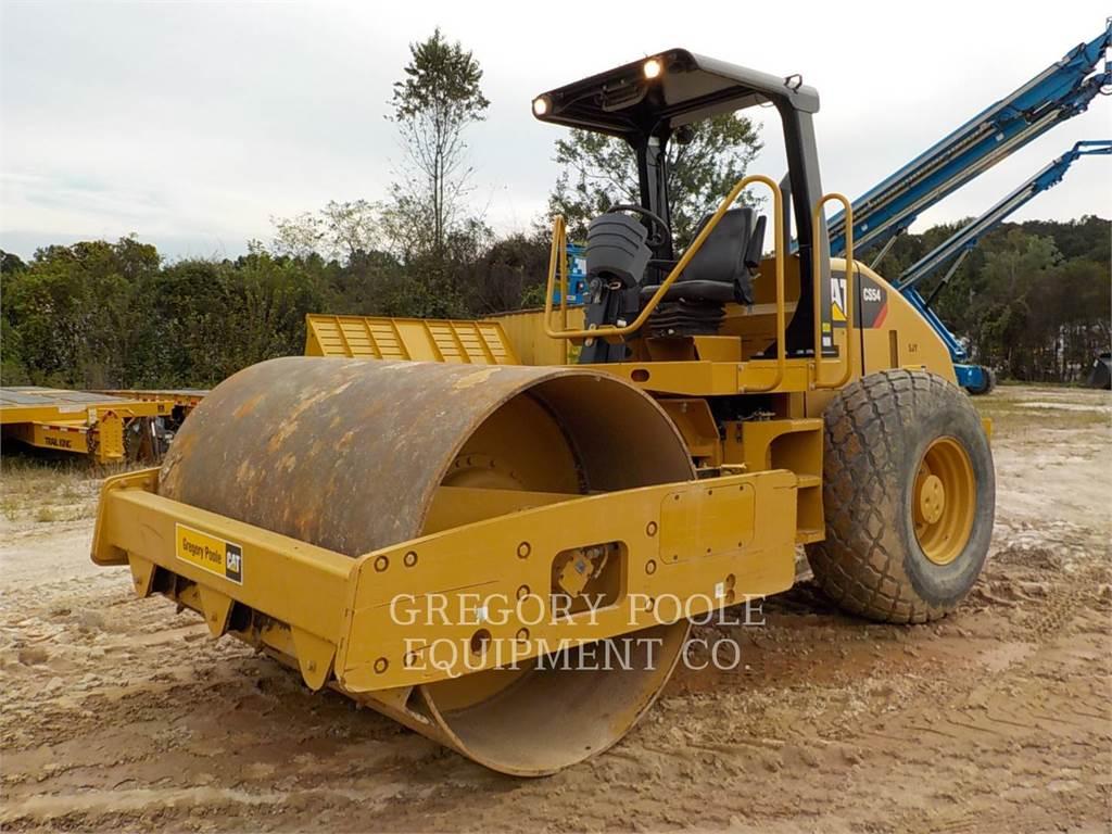 Caterpillar CS54, Rodillos de un solo tambor, Construcción