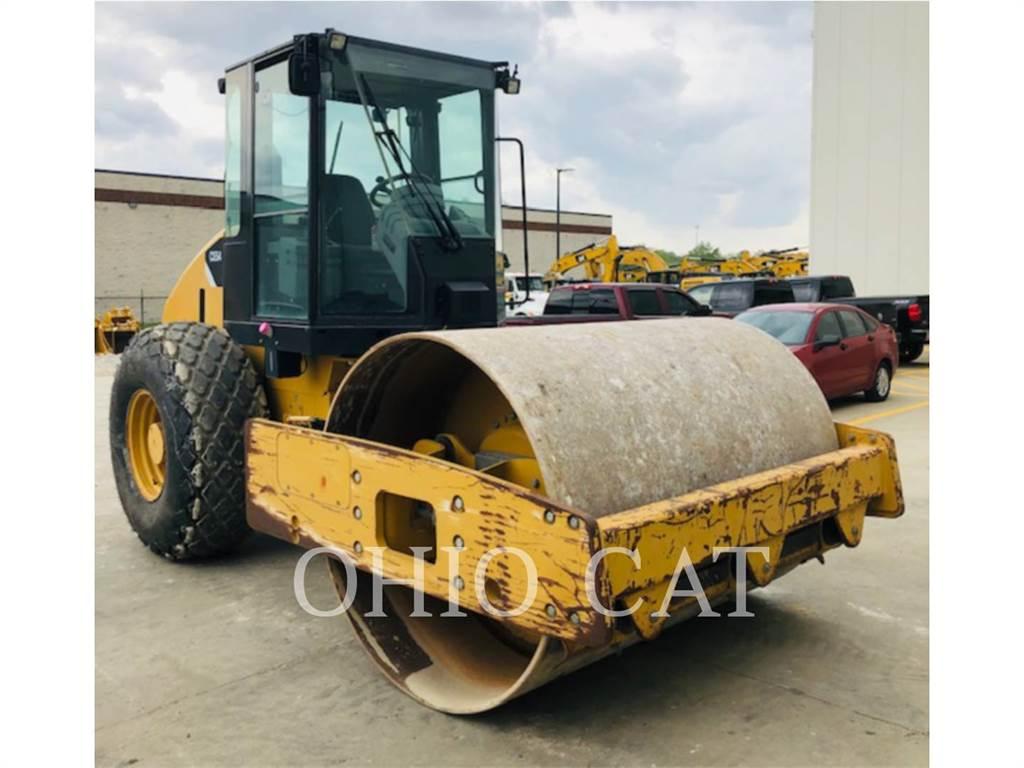 Caterpillar CS54, combination rollers, Construction