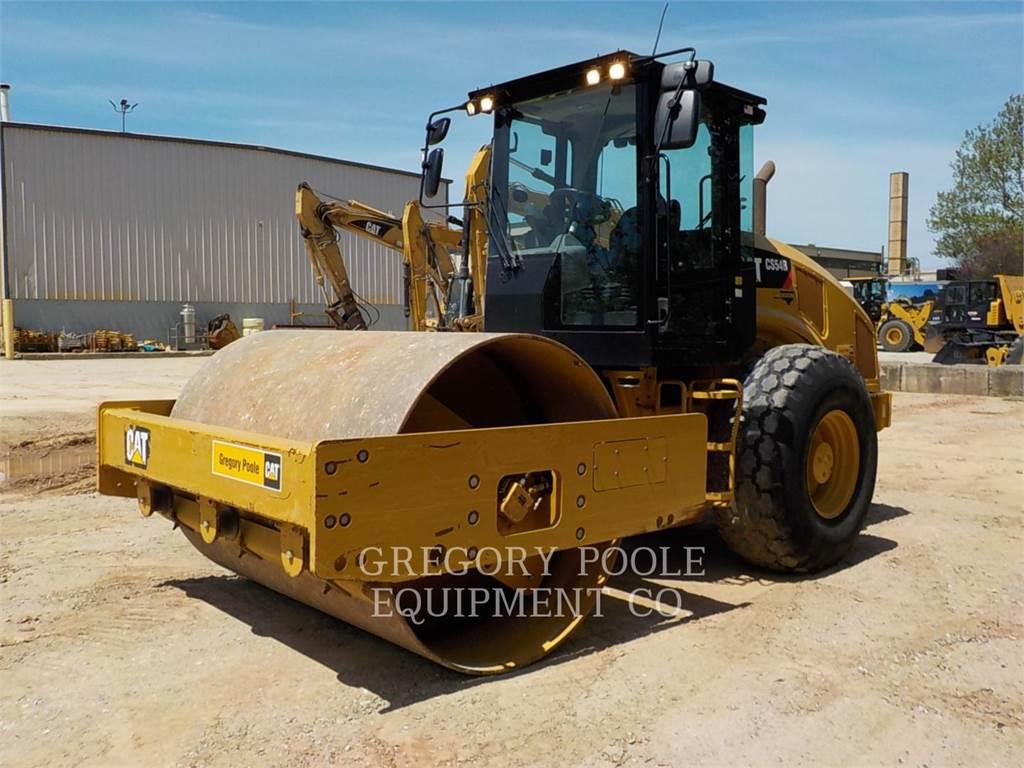 Caterpillar CS54B、振動ローラ、建設