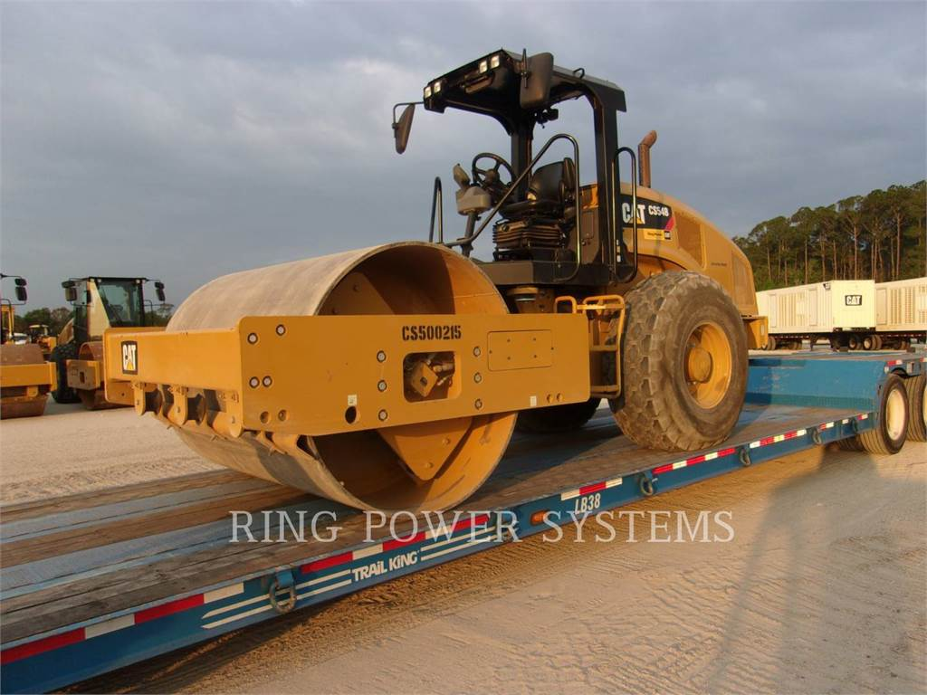 Caterpillar CS54B, Tandemwalzen, Bau-Und Bergbauausrüstung