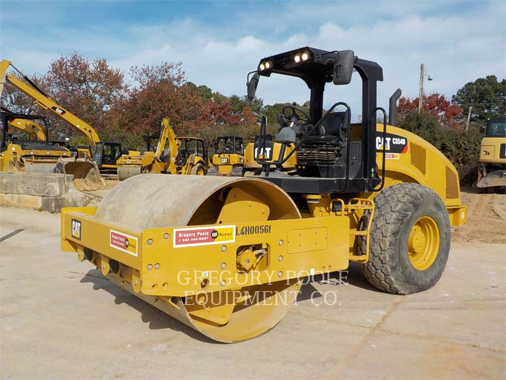 Caterpillar CS54B, Walce jednobębnowe, Sprzęt budowlany