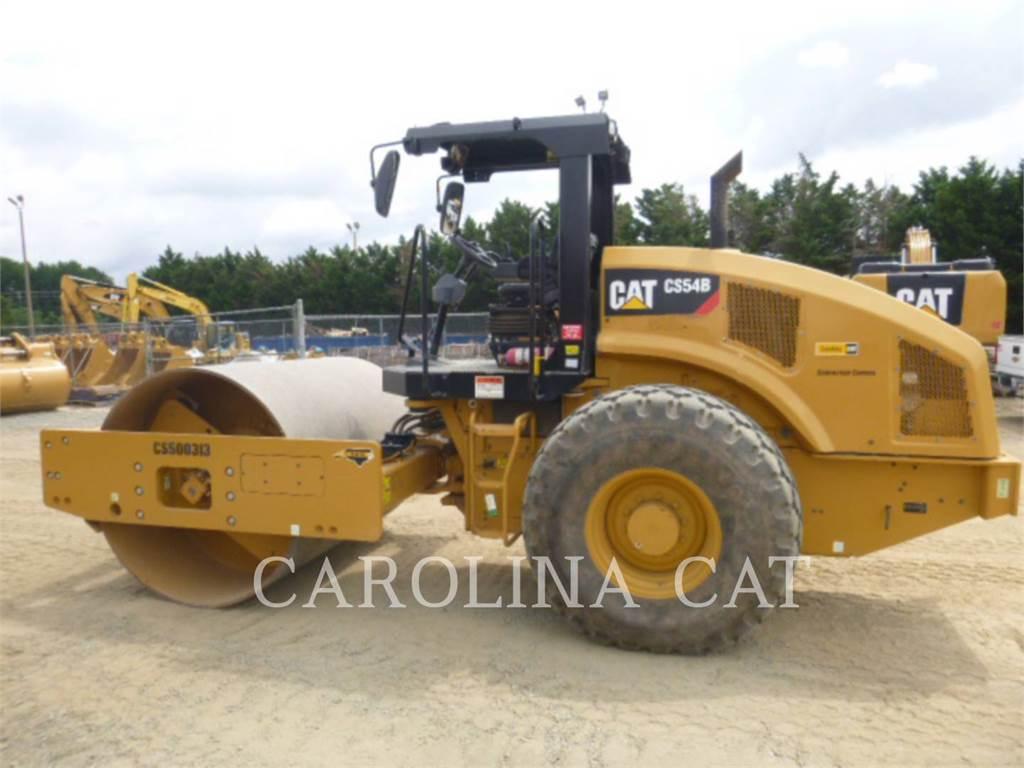 Caterpillar CS54B, Cilindri compactori dubli, Constructii