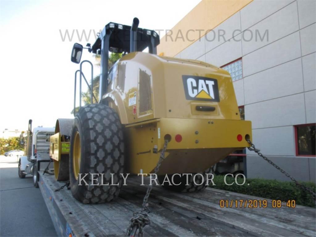 Caterpillar CS54B, Cilindros Compactadores monocilíndricos, Equipamentos Construção