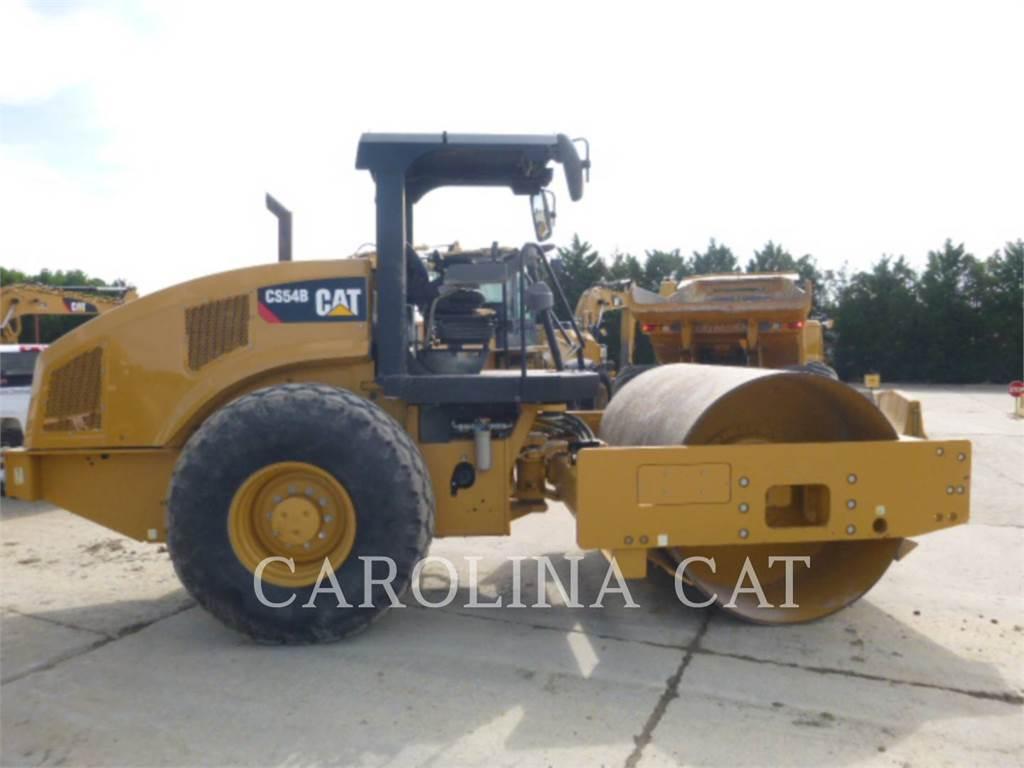 Caterpillar CS54B, Walce dwubębnowe, Sprzęt budowlany