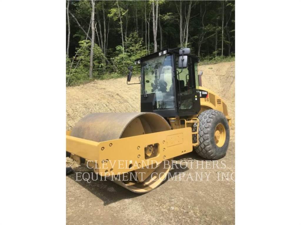 Caterpillar CS54B, Compactadores, Construcción