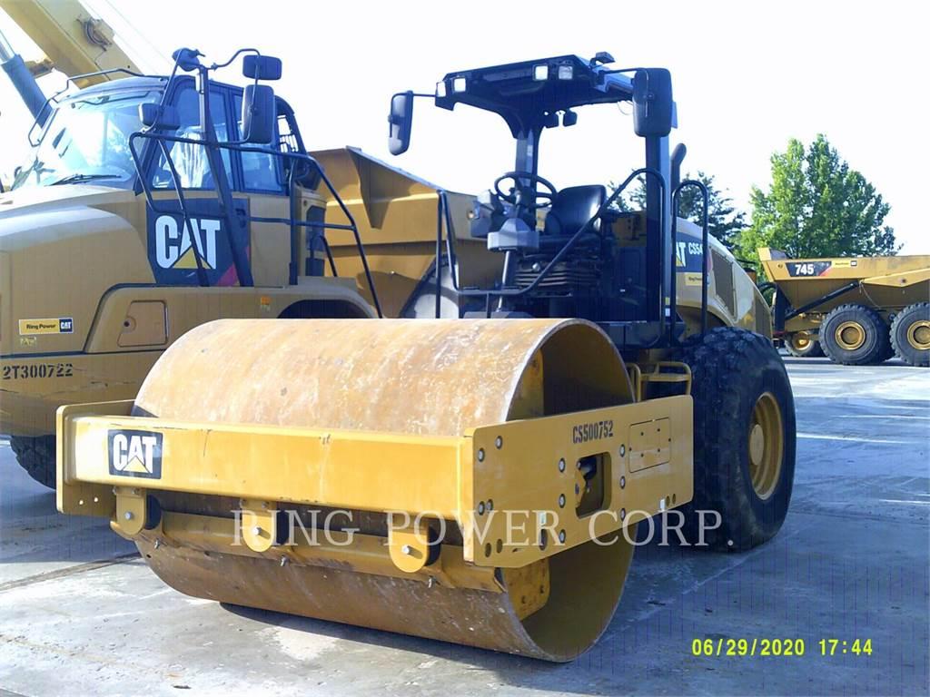 Caterpillar CS54B, Rodillos de doble tambor, Construcción