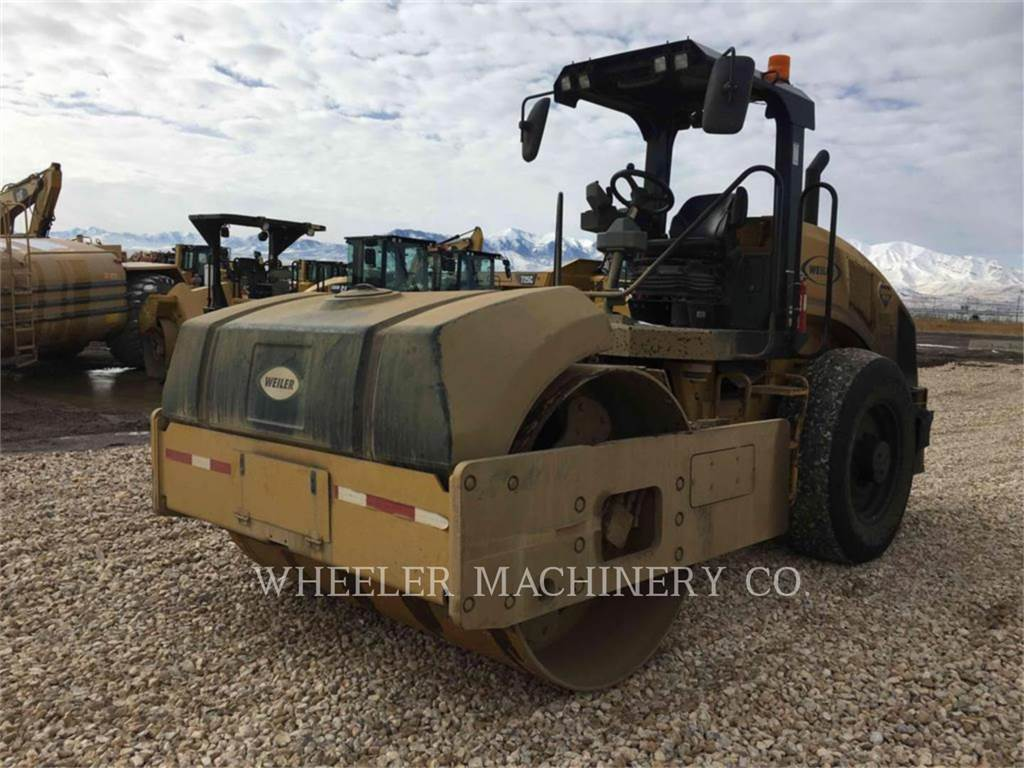Caterpillar CS54B C110, Single drum rollers, Construction