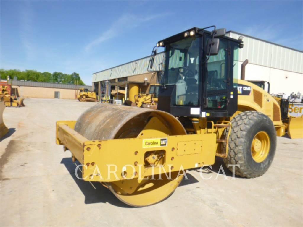 Caterpillar CS54B CB, Rouleaux tandem, Équipement De Construction