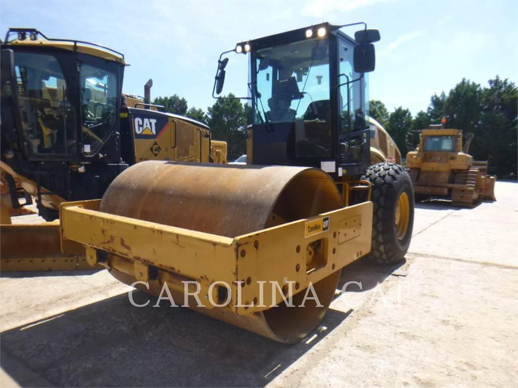 Caterpillar CS54B CB, Twin drum rollers, Construction