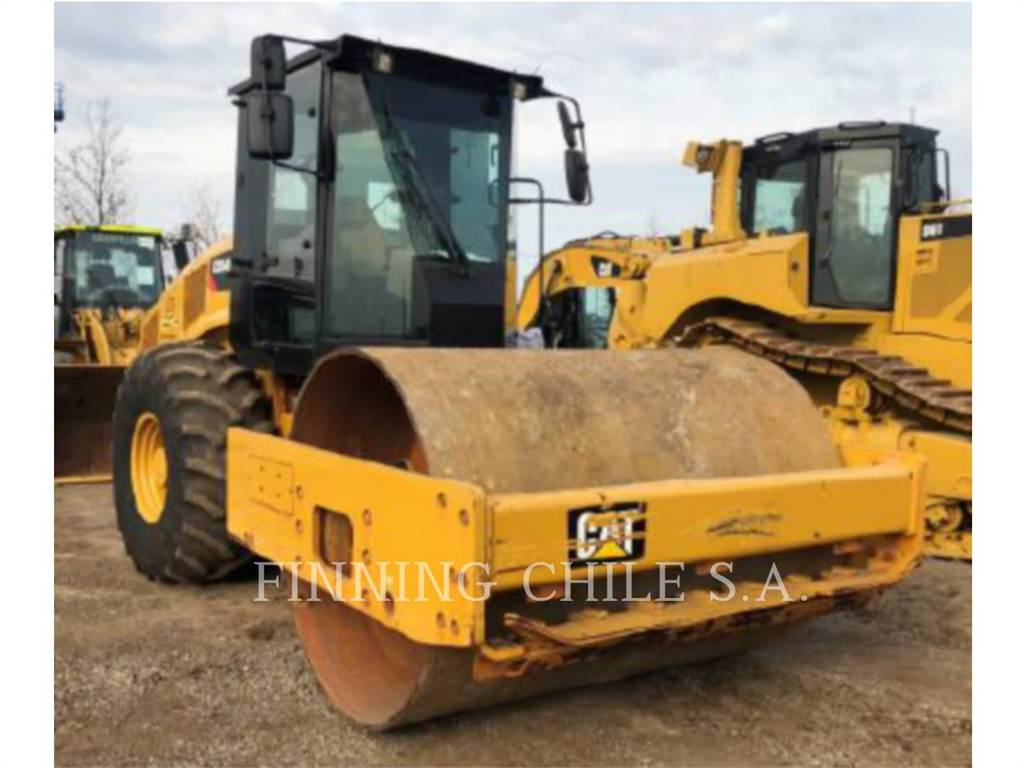 Caterpillar CS54BLRC, Waste Compactors, Construction