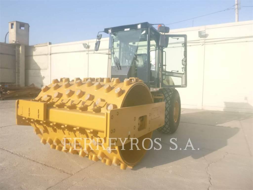 Caterpillar CS54BLRC、单轮压路机、建筑设备