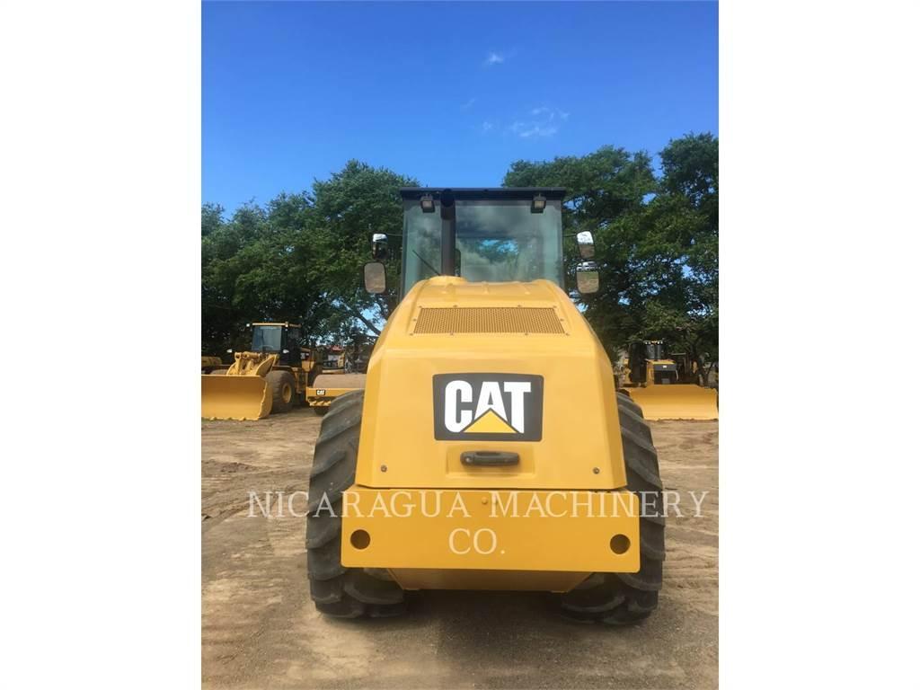 Caterpillar CS54BLRC, Compactoare monocilindrice, Constructii
