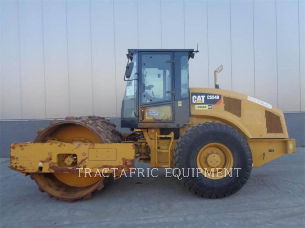 Caterpillar CS54BLRC, Rouleaux monocylindre, Équipement De Construction