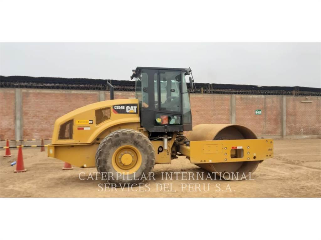 Caterpillar CS54BLRC, Single drum rollers, Construction