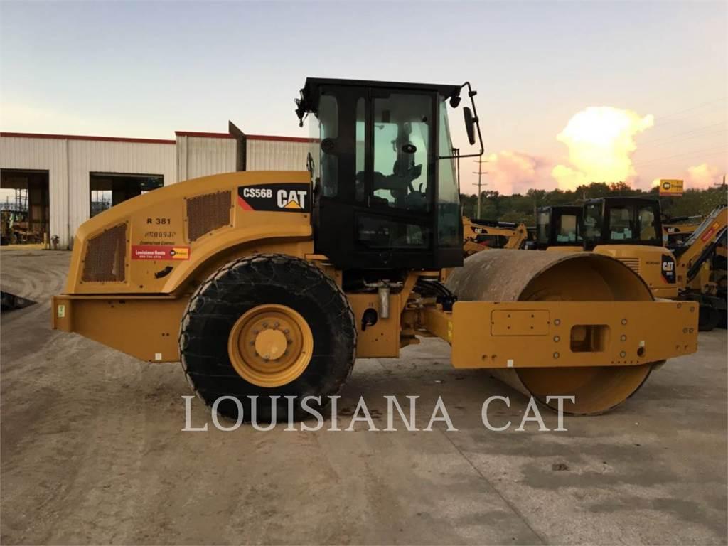 Caterpillar CS56B, Rouleaux monocylindre, Équipement De Construction