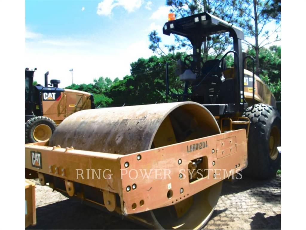 Caterpillar CS56B、振動ローラ、建設