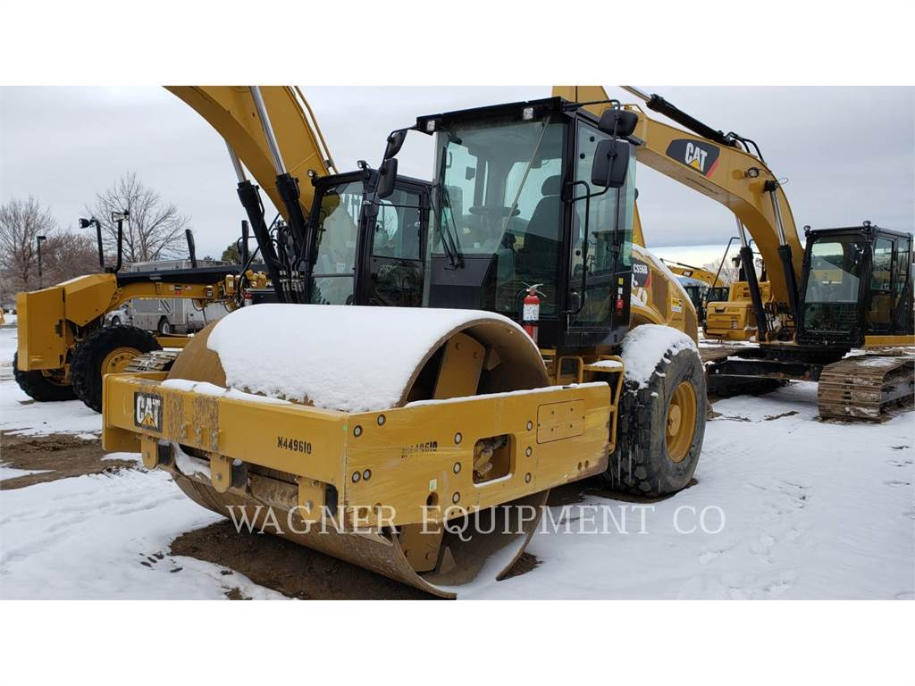Caterpillar CS56B, Compactadores, Equipamentos Construção