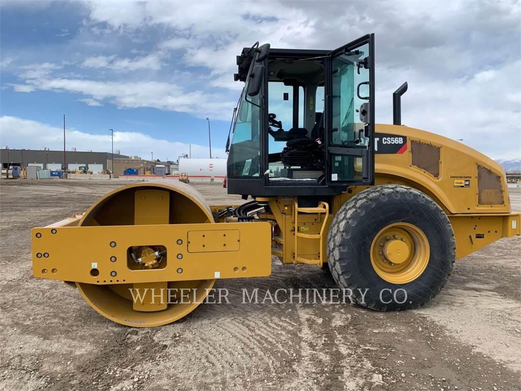 Caterpillar CS56B, Single drum rollers, Construction