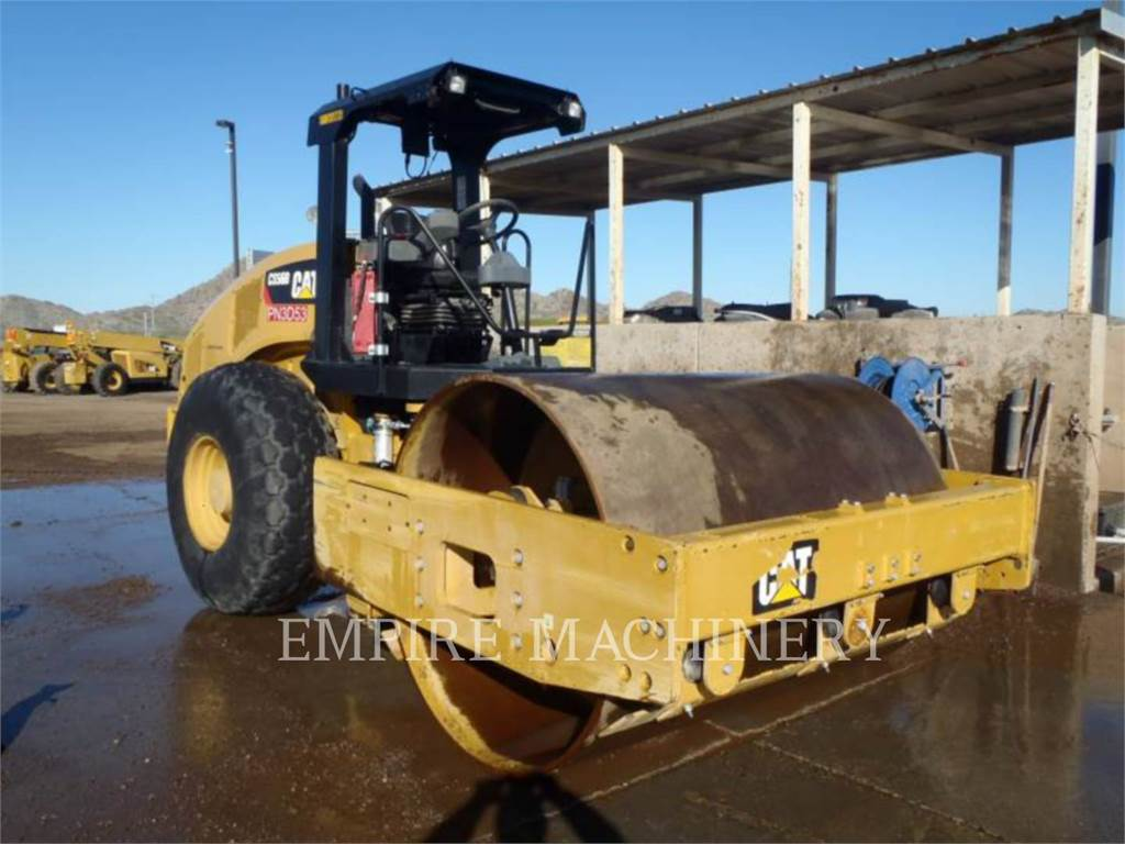 Caterpillar CS56B, Single drum rollers, Construction