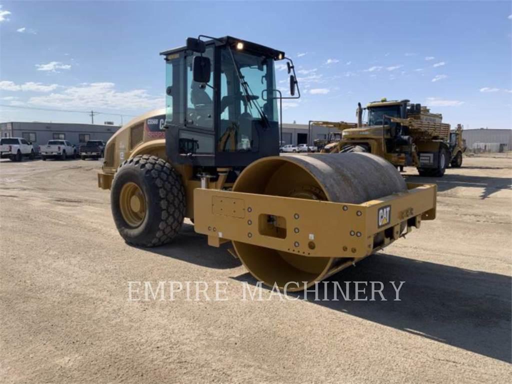 Caterpillar CS56B CA, Single drum rollers, Construction