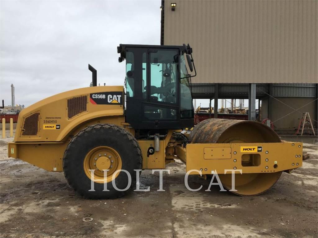 Caterpillar CS56B LOOK, Rouleaux monocylindre, Équipement De Construction