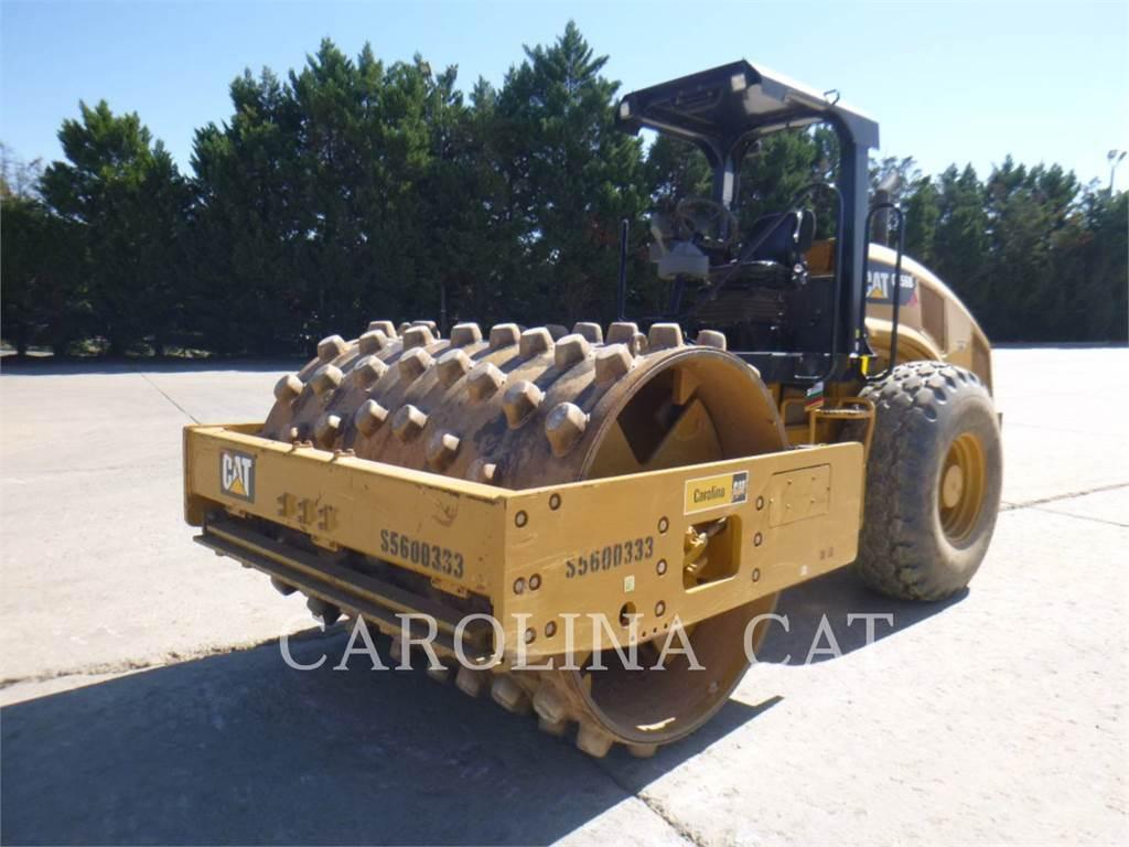 Caterpillar CS56B SK, Twin drum rollers, Construction