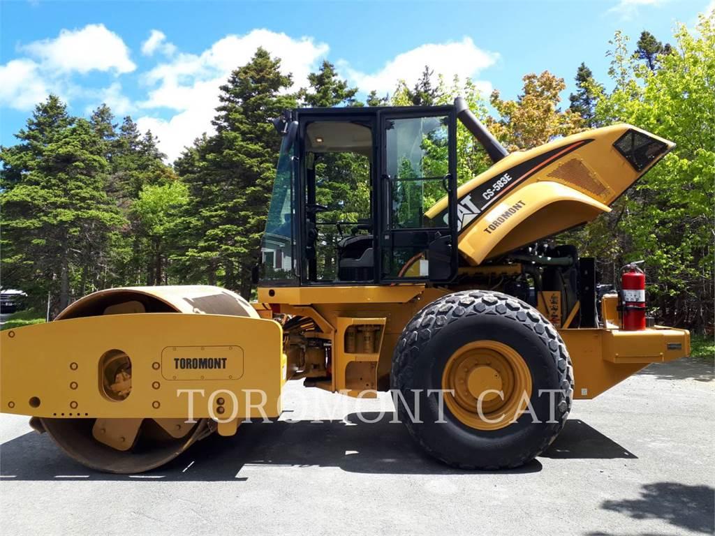 Caterpillar CS583E, Compactadores, Equipamentos Construção