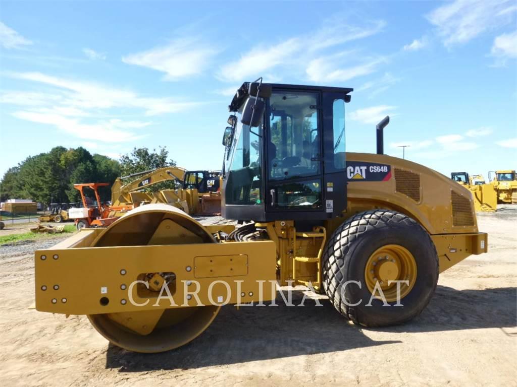Caterpillar CS64B CB, Single drum rollers, Construction