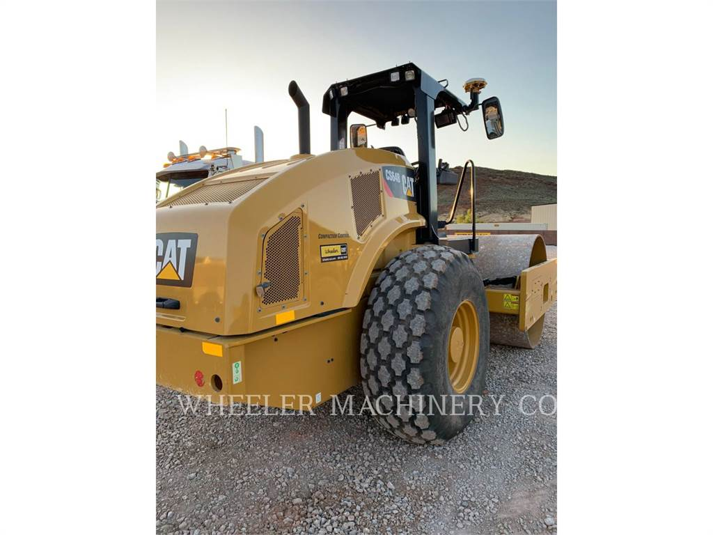 Caterpillar CS64B CNPY, Walce jednobębnowe, Sprzęt budowlany