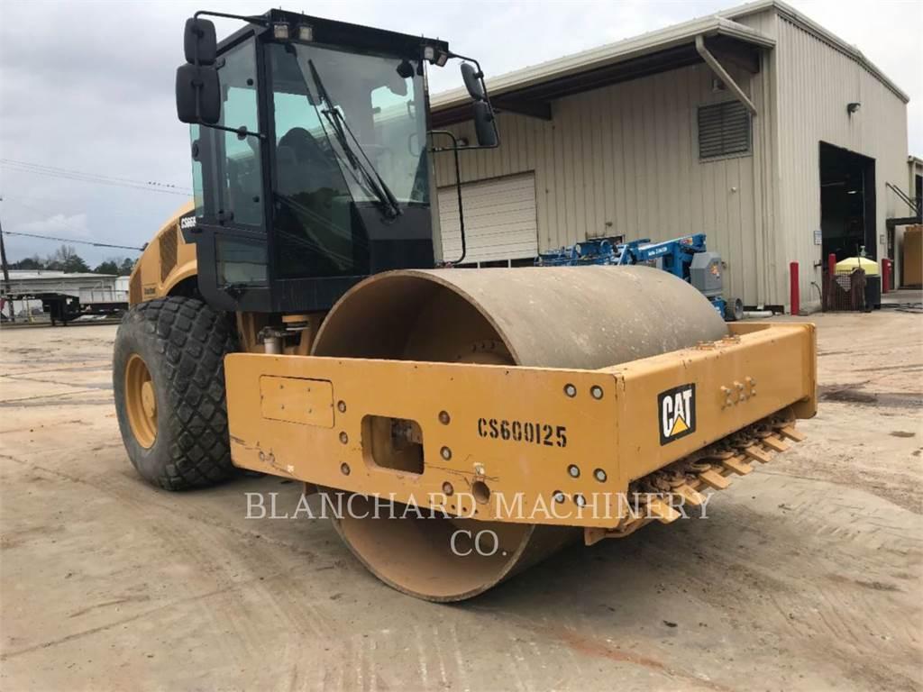 Caterpillar CS66B, Opryskiwacze do asfaltu, Sprzęt budowlany