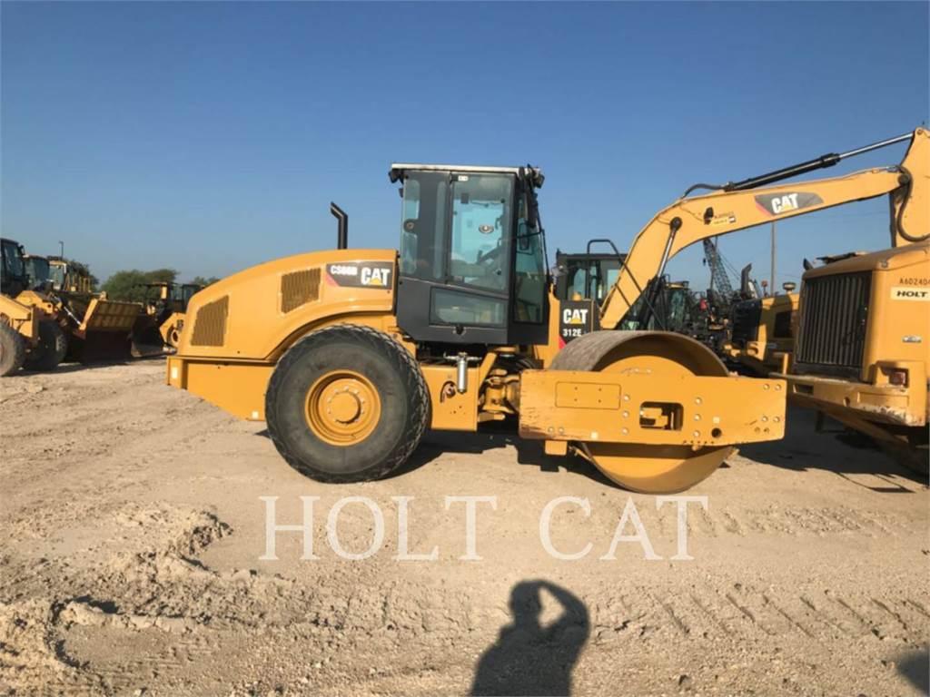Caterpillar CS66B CAB, Rouleaux monocylindre, Équipement De Construction