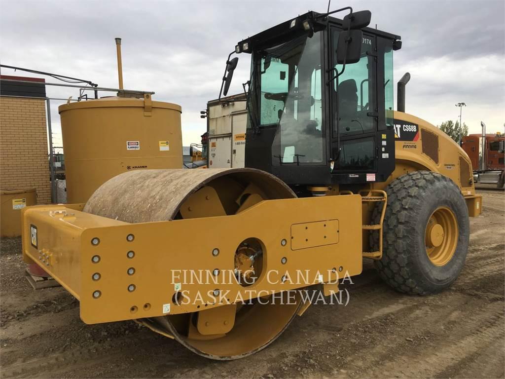 Caterpillar CS68B, Single drum rollers, Construction