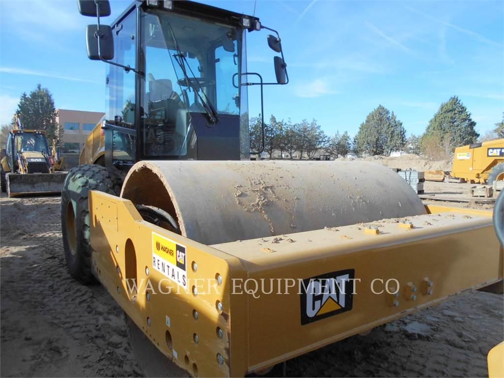 Caterpillar CS74B, Single drum rollers, Construction