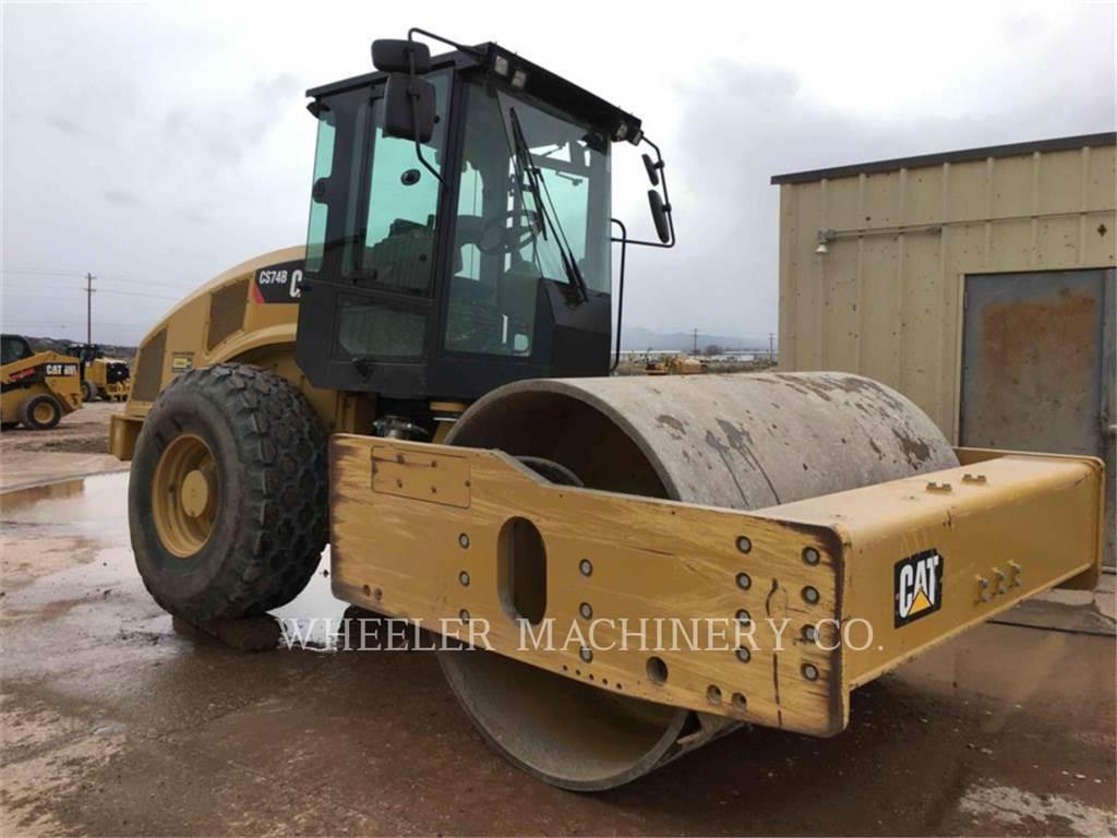 Caterpillar CS74B, Walzenzüge, Bau-Und Bergbauausrüstung