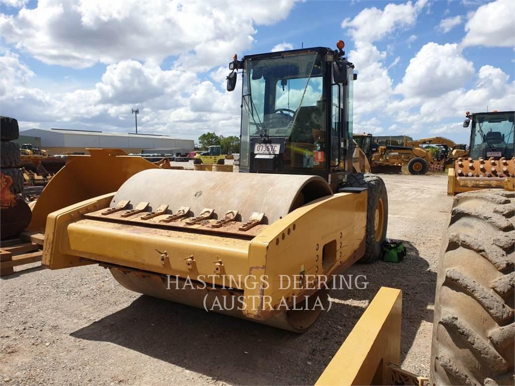 Caterpillar CS76, Rouleaux monocylindre, Équipement De Construction