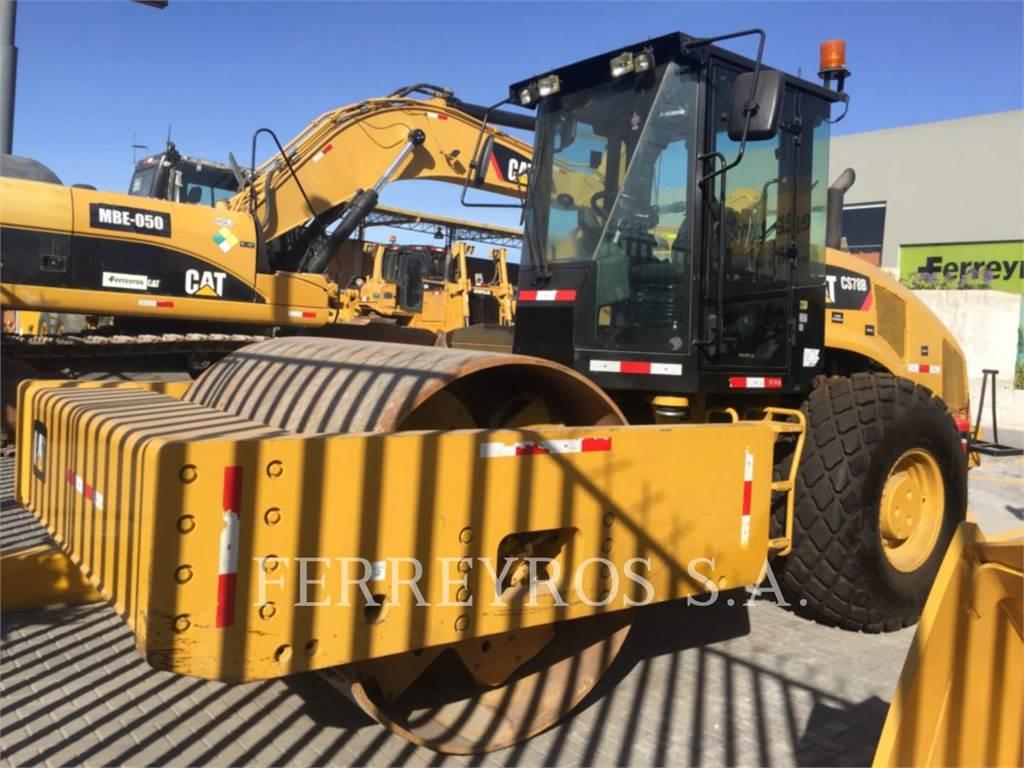 Caterpillar CS78B, Single drum rollers, Construction